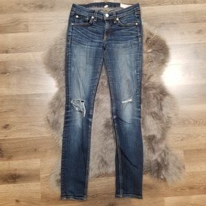 Rag and bone skinny jeans size 26